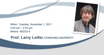 Prof. Larry Leifer: Dancing with Ambiguity
